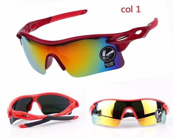 Fashion Men/Women Cycling Glasses- UV400 Outdoor Sports Windproof  Mountain Bike Bicycle Motorcycle Polycarbonate Sunglasses - FitShopPro