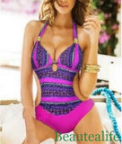 Sexy Bohemian One Piece Swimsuit - FitShopPro