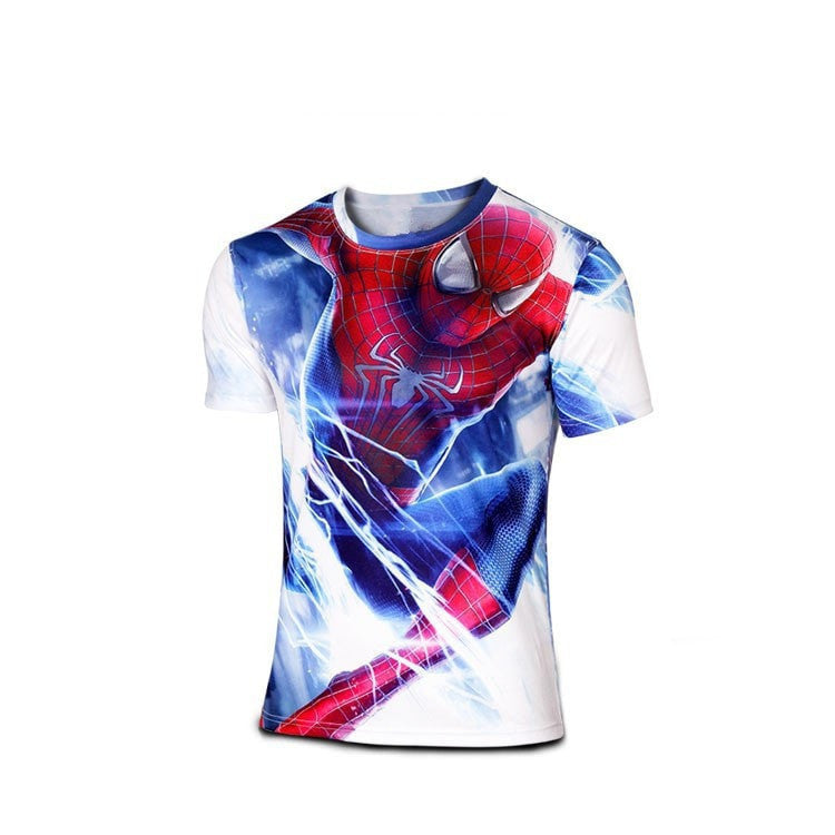 Comics Full Picture Fitness Quick Dry T-shirt - FitShopPro
