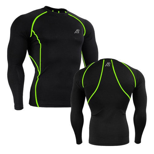 Men Workout Compression Body Building Tops - Long Sleeve - FitShopPro
