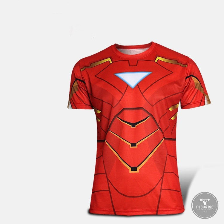 SUPERHERO Fitness Quick Dry T-Shirt - FitShopPro