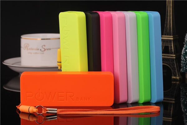 Portable Mobile Phone Charger - Ultra Thin 5600mah - FitShopPro