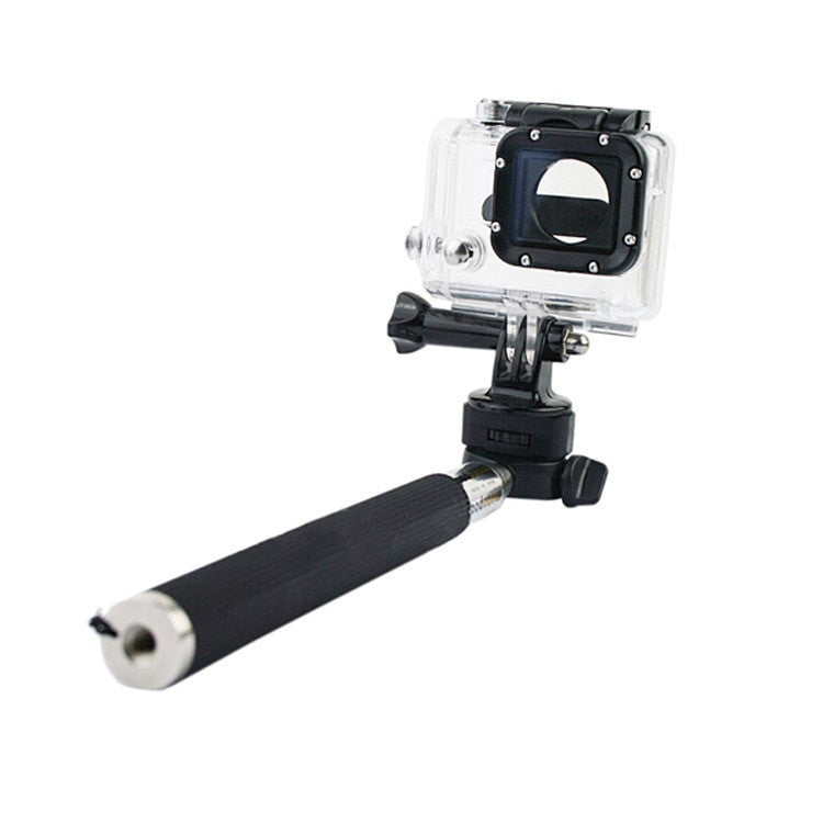 ProCam Monopod Aluminium Handheld With Tripod Mount Adapter - Compatible With Other Extreme Sports cameras - FitShopPro