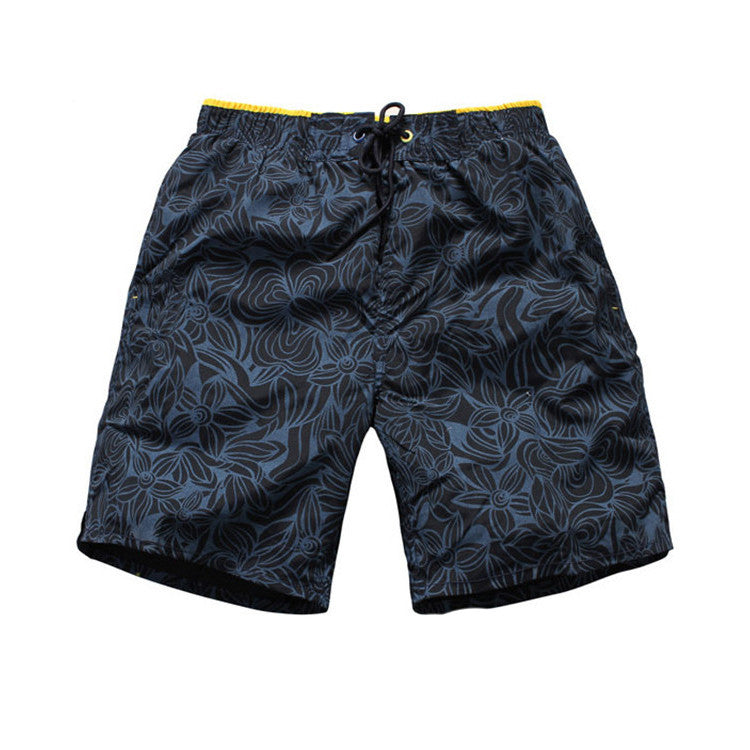 Tropical Print Swimwear Shorts