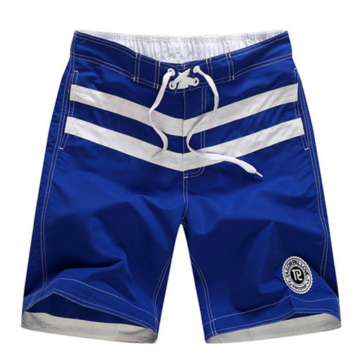 Navy Men Quick Dry Swimming Short