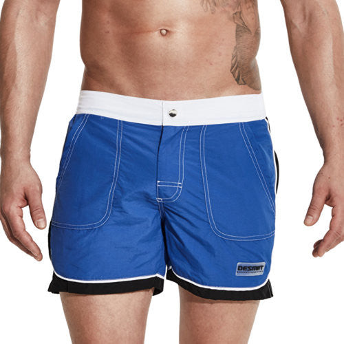 Buttoned Swimming Shorts