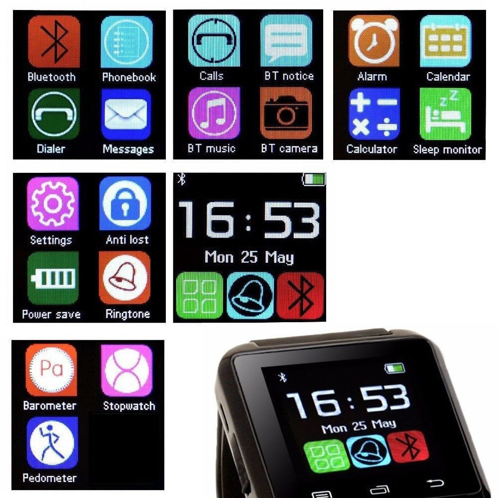 FitPro XL Smart Watch Outdoor Bluetooth, Call, Pedometer, Altimeter