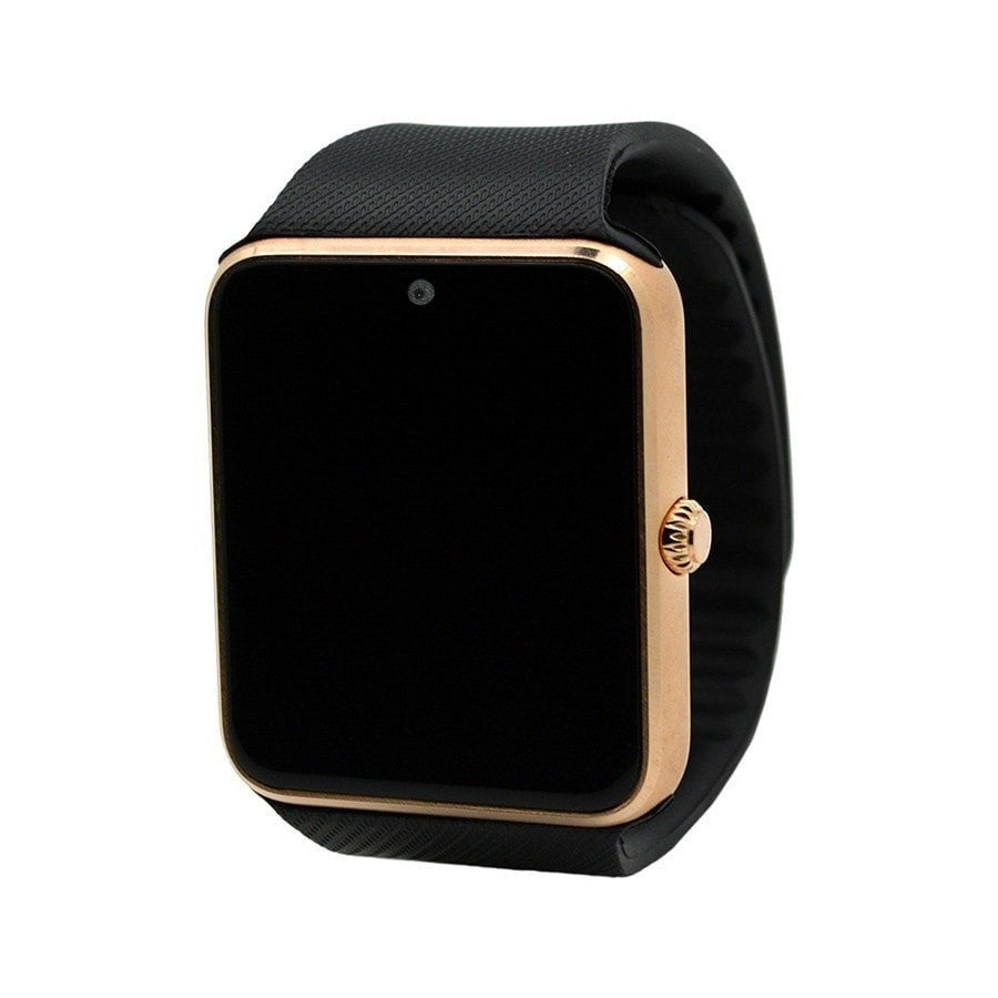 Smart Watch GT - Clock Sync Notifier - Support Sim Card - Bluetooth Connectivity (Apple iphone Android Phone) - Smartwatch Watch - FitShopPro