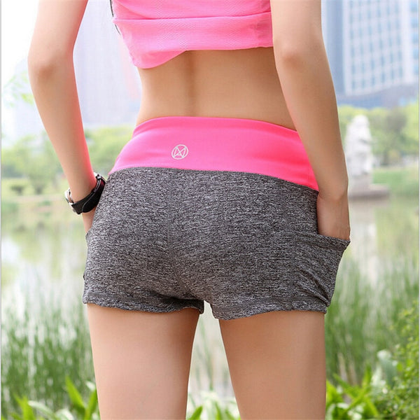 Fashion Summer High Waist Women Athletic Short - FitShopPro