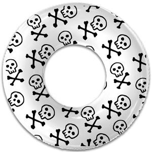 THE PETITE SKULL AND BONES FLOAT