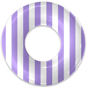 THE LAVENDER STRIPE FLOAT