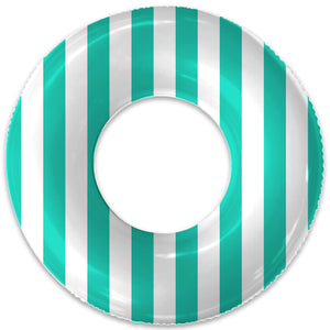 THE SEA GREEN STRIPE FLOAT