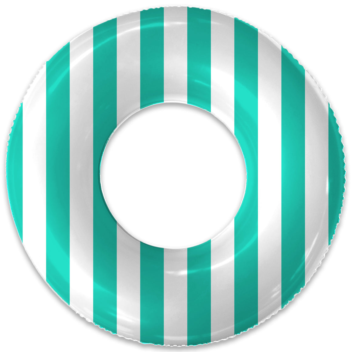 THE PETITE SEA GREEN STRIPE FLOAT