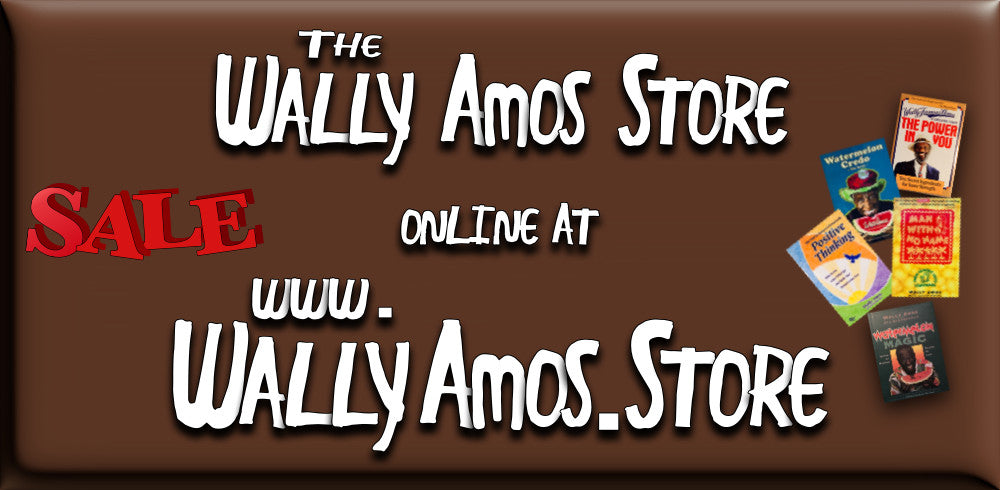 Wally Amos Store is at WallyAmos.store