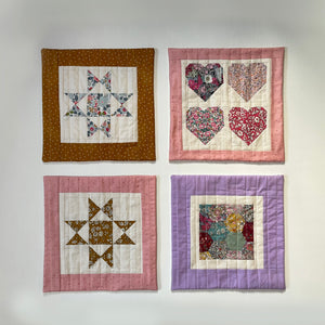 Doll Quilt, Hexagon
