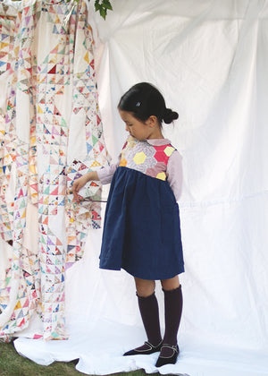 Hexagon Patchwork Dress