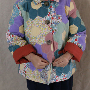 Hexagon Patchwork Jacket