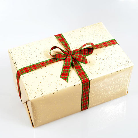Speckled Gold Gift Wrap