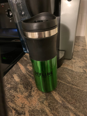 Offline Refill Mug Travel Coffee