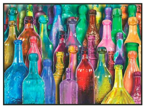 1000 - Colourful Glass