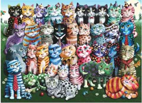 1000 - Cat Family Reunion