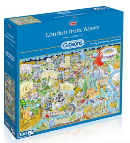 Puzzle - 500 London from Above