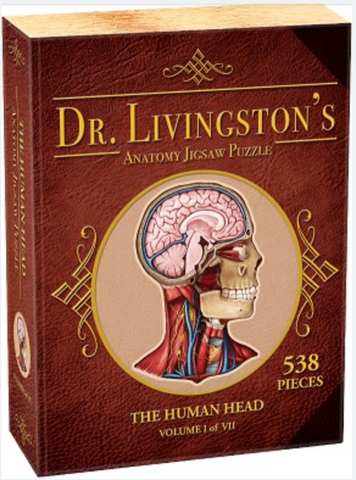 Dr. Livingston's Anatomy Puzzle: Human Head