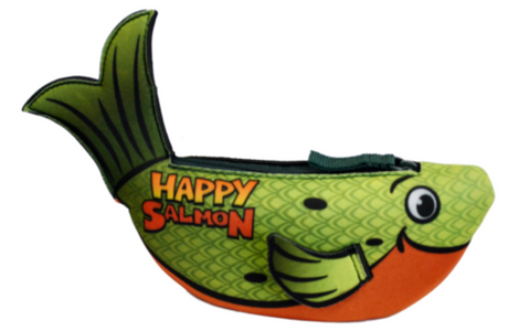 Happy Salmon - Green OR Blue!