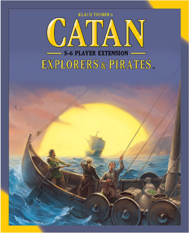Catan: Explorers and Pirates 5-6 Player Exp