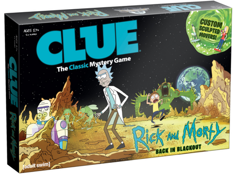 Clue Rick & Morty