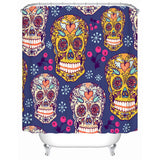 Colorful SugarSkull Shower Curtain