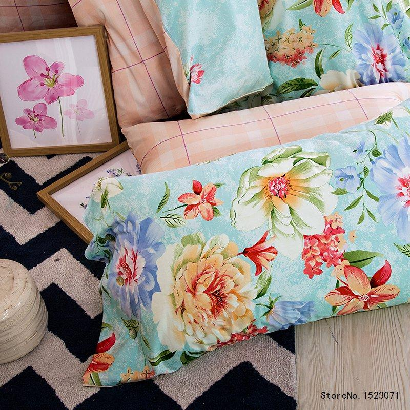 New Blue Bloom Bedding