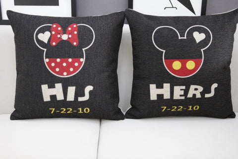 Classic Mickey Decorative Cushion Cover, Collectors Edition
