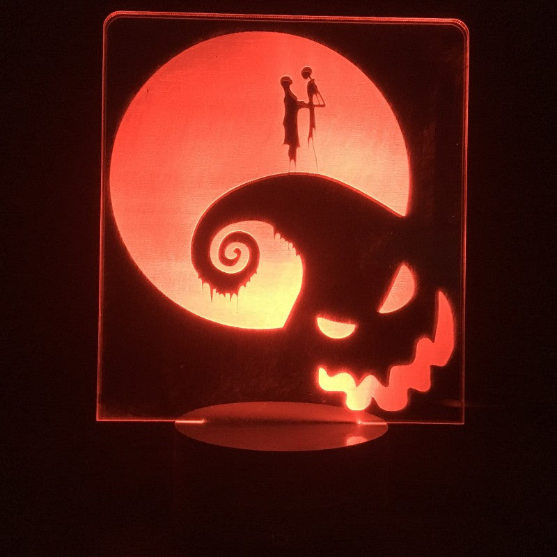 The Nightmare Before Christmas Lamp