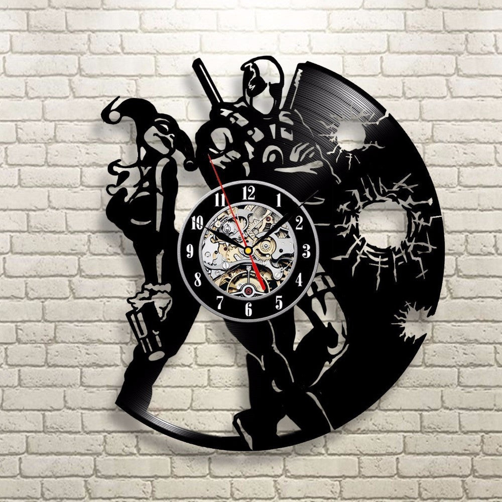 Deadpool decor wall clock varietyonex deadpool decor wall clock amipublicfo Choice Image