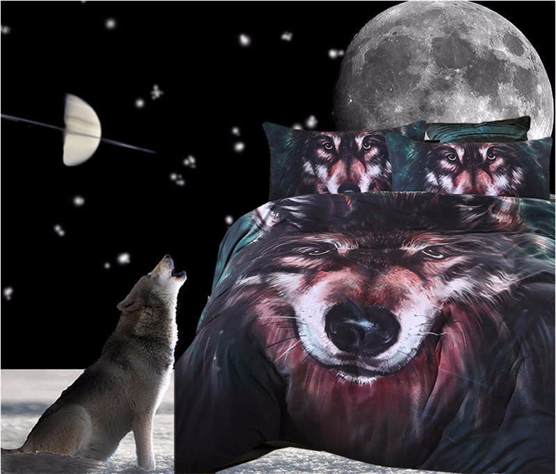 Lone Wolf BedSet