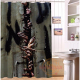 Zombie Shower Curtain Collection