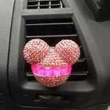 Luxury Diamond Mickey Mouse Car Refreshing Agent