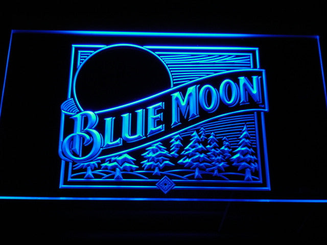 Blue Moon Beer Bar/ManCave Display LIMITED EDITION