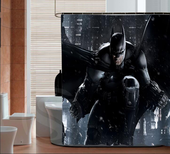 BatMan Shower Curtain Collection LIMITED EDITION – VarietyOnex