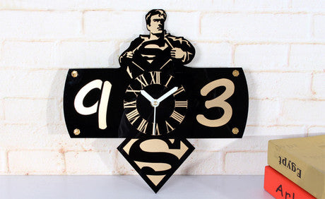 Super Man Wall Clock