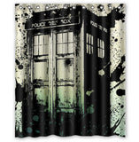 Limited Edition Doctor Who Graphic Shower Curtain