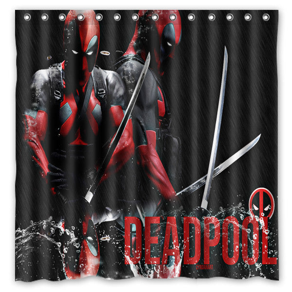Its DeadPool LIMITED EDITION Shower Curtain