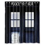 HD Tardis Shower Curtain