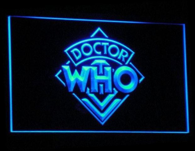Dr Who LED Sign