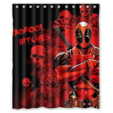 LIMITED EDITION DeadPool Shower Curtains