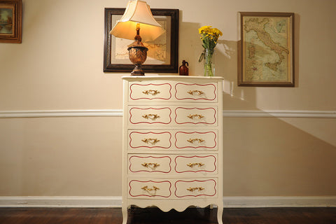 Drexel Mid-Century French Provincial 5