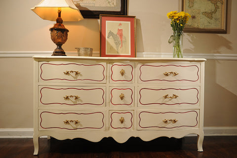 Drexel Mid-Century French Provincial 6
