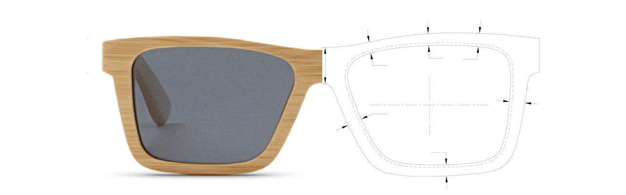 See how edlee sunglasses are made from sustainable bamboo and wood materials.