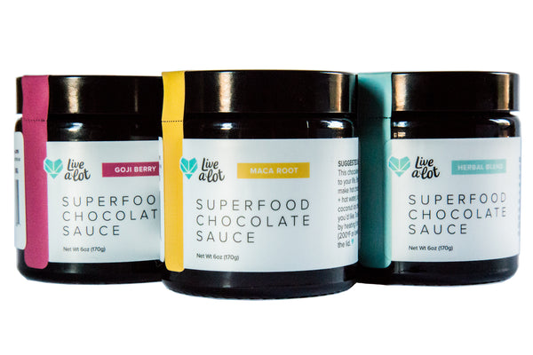 VARIETY PACK :: Superfood Chocolate Sauce